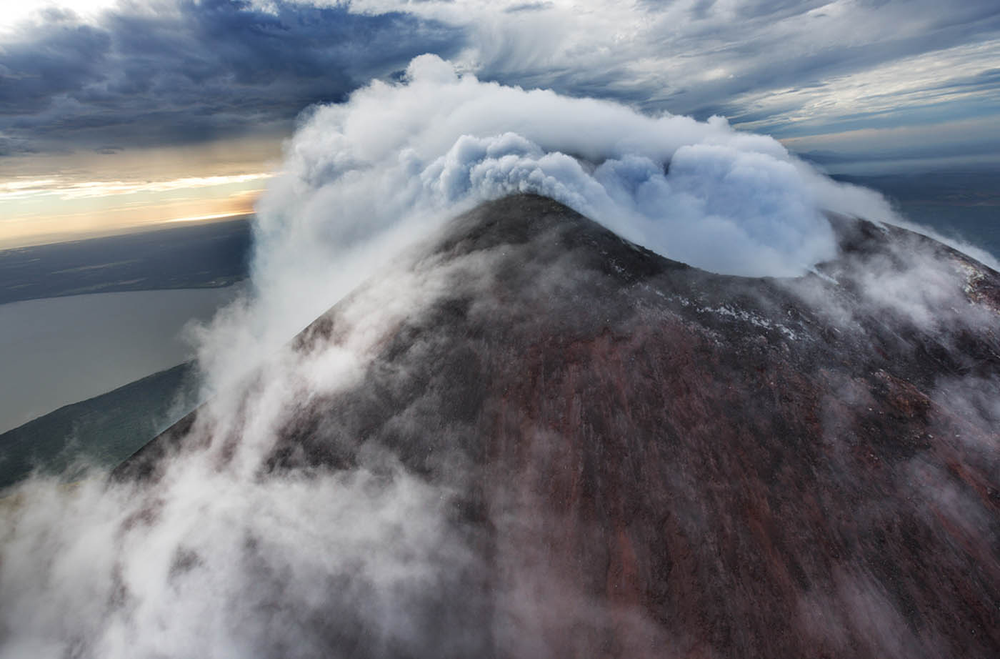 About the San Cristobal Volcano